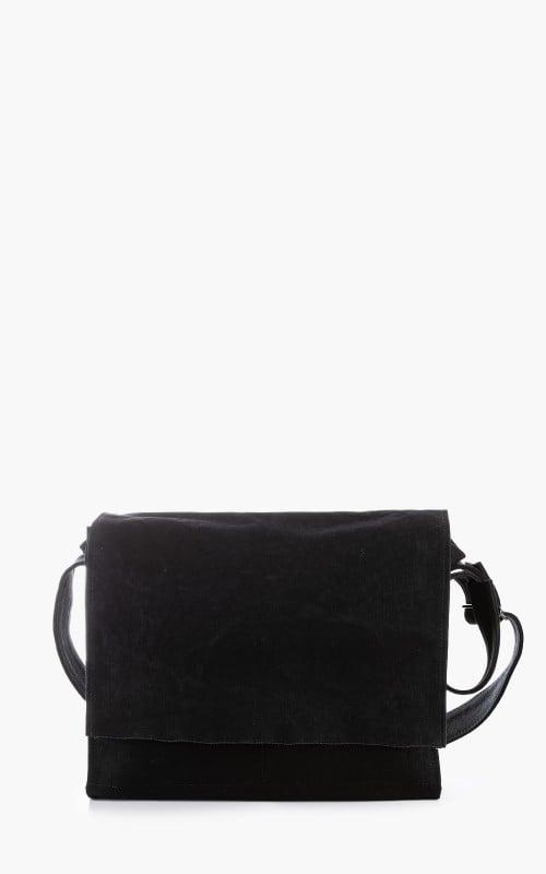 Amiacalva Canvas Shoulder Bag M Black