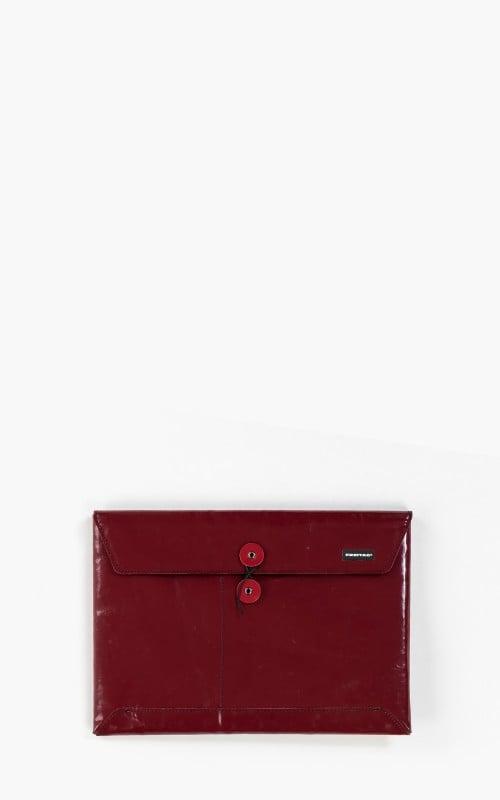 "Freitag F411 Sleeve Padded Laptop Envelope 13"" Red 6-1"