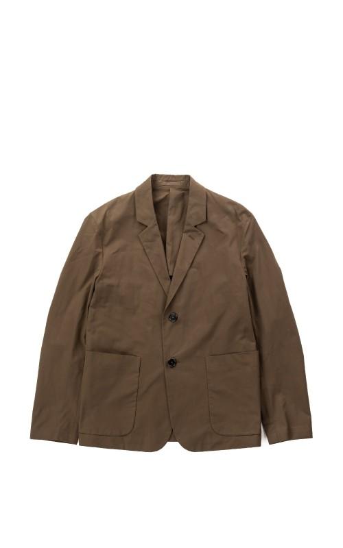 Margaret Howell Big Pocket Blazer Matt Twill Dark Olive