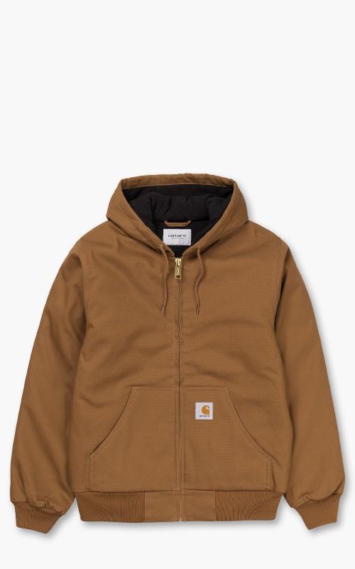 Carhartt WIP Active Jacket Hamilton Brown Rigid