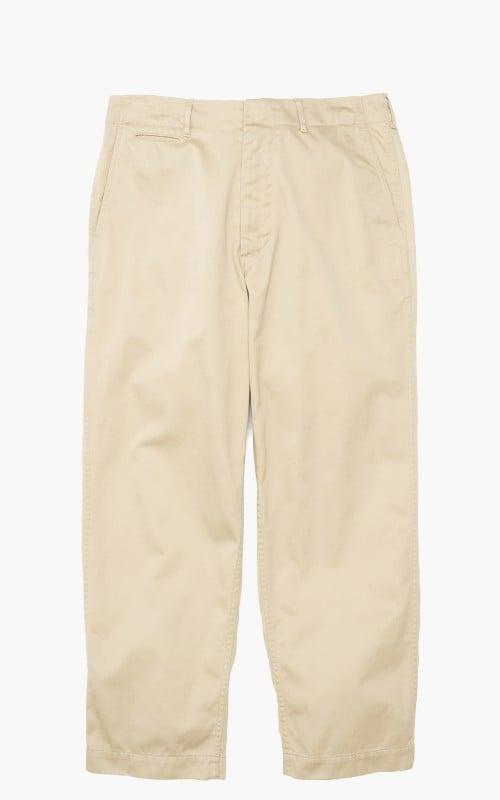 Nanamica Wide Chino Pants Khaki