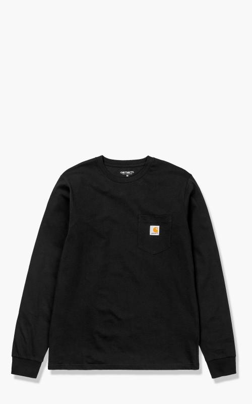 Carhartt WIP L/S Pocket T-Shirt Black