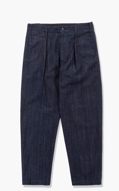 Engineered Garments Carlyle Pant 10oz Broken Denim Indigo