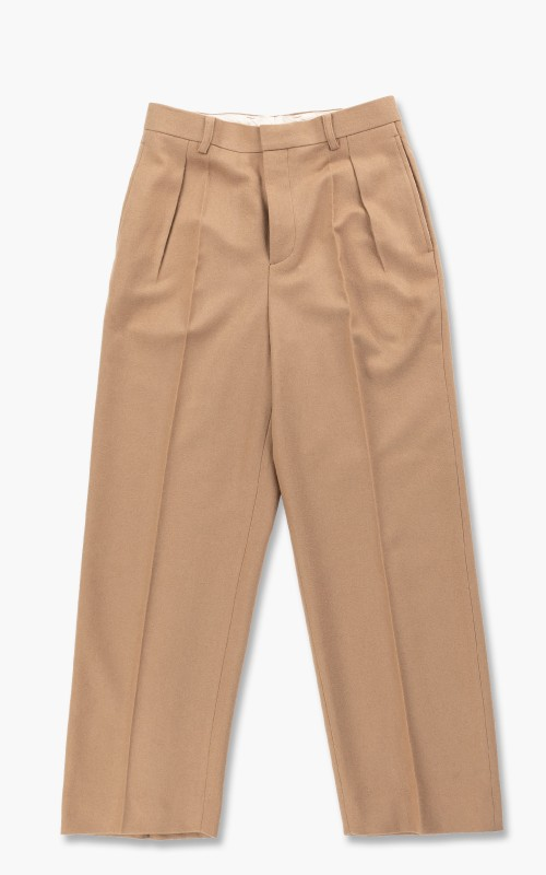 Digawel Intuck Pants Flannel Camel