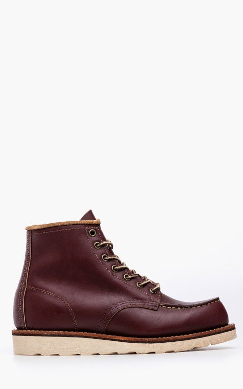 Red Wing Shoes 8856D Moc Toe Oxblood Mesa Leather