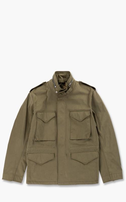 Ten C Short Field Jacket Olive