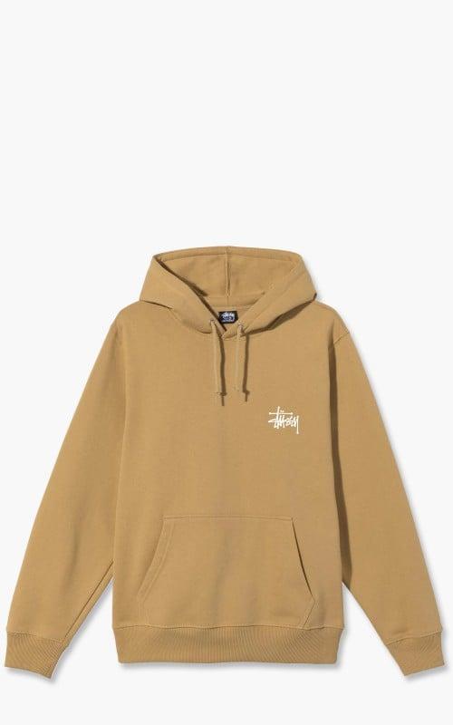 Stüssy Basic Stussy Hood Khaki