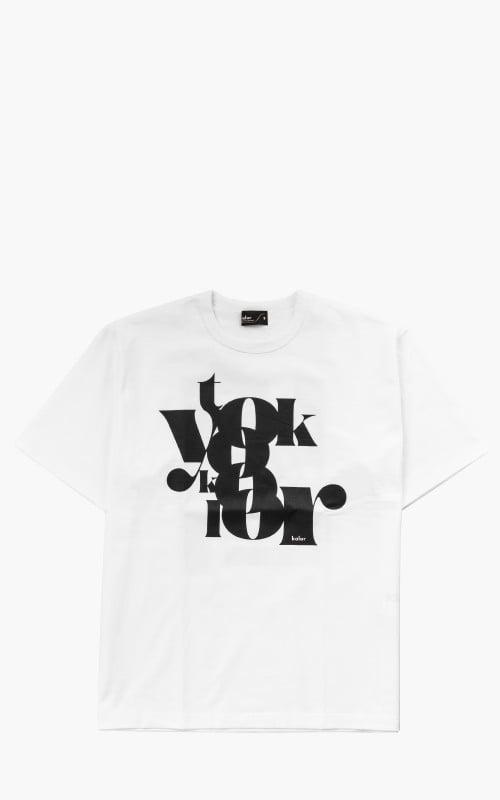 Kolor Cut&Sew T-Shirt A-White