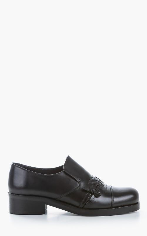 Stefan Cooke Slip On Black Polished