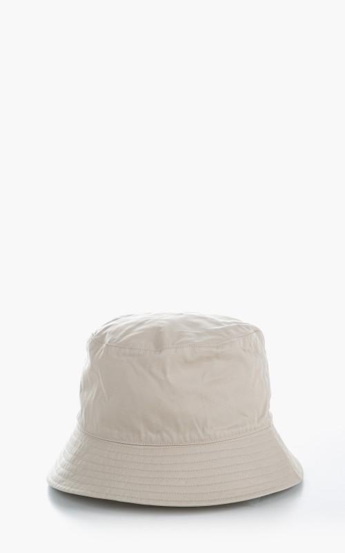 Kijima Takayuki No. 211108 Ventile Cotton Bucket Hat Beige