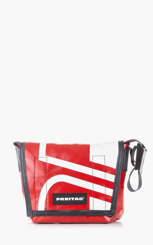 Freitag F11 Lassie Messenger Bag Classic S Red 6-3
