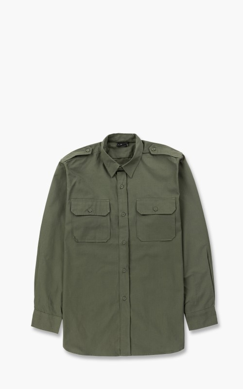 Military Surplus Field Shirt Ripstop Olive