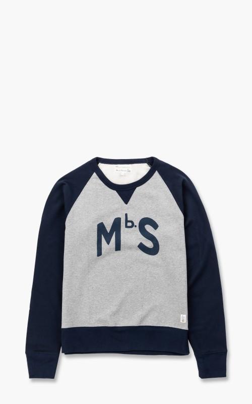 Merz b. Schwanen TR349 Good Training Sweatshirt Grey Melange/Ink