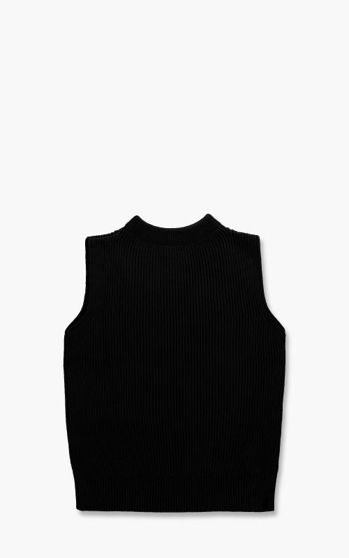 Andersen-Andersen Navy Vest Black