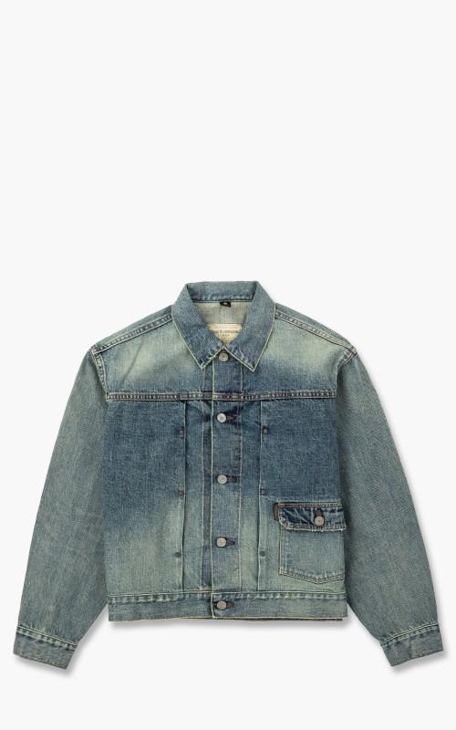 Gypsy & Sons Denim Baggie Jacket Light Blue
