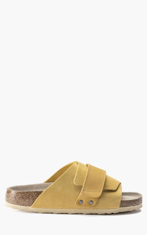 Birkenstock Kyoto Nubuck/Suede Leather Ochre