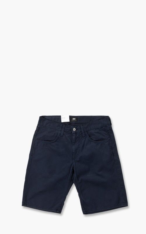 Edwin 55 PFD Bermuda Light Cotton Twill Shorts Navy Blazer