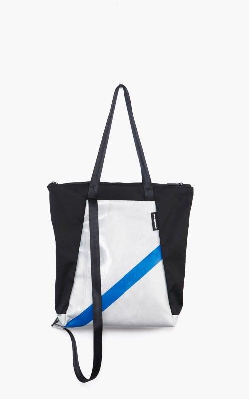 Freitag F620-07 Davian Black Tote Bag Silver 7-1