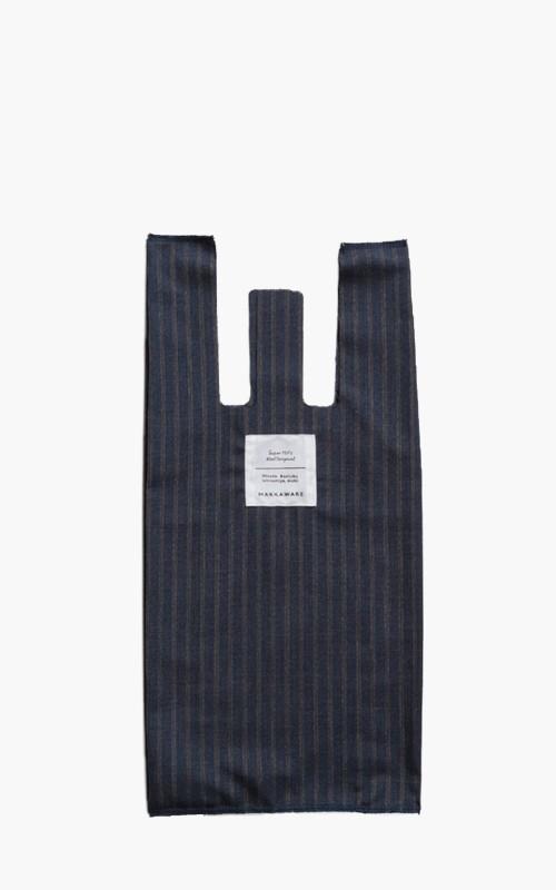 Markaware Convenience Bag Indigo Stripe