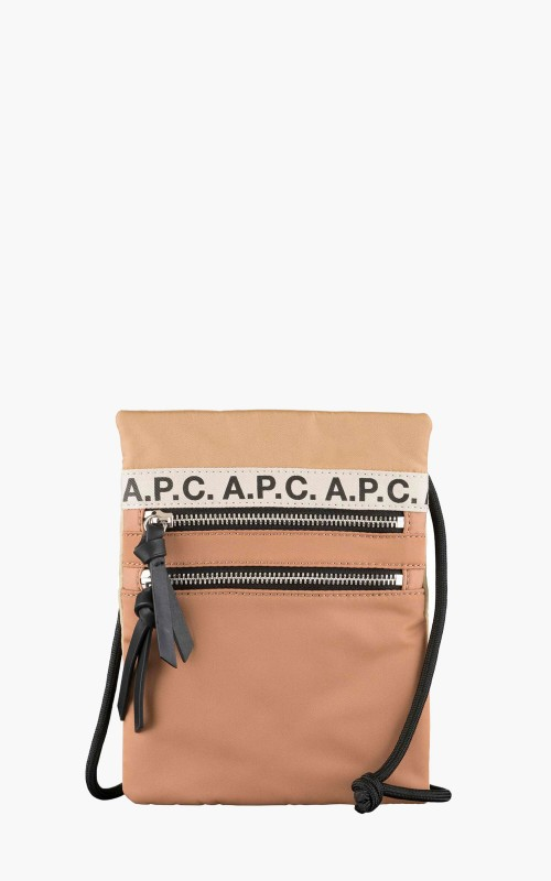 A.P.C. Neck Pouch Repeat Cafe