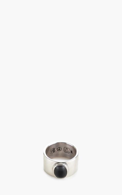North Works x CULTIZM W-026 Ring 900 Black Onyx