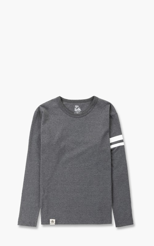 Momotaro Jeans Zimbabwe Cotton GTB Longsleeve Dark Grey