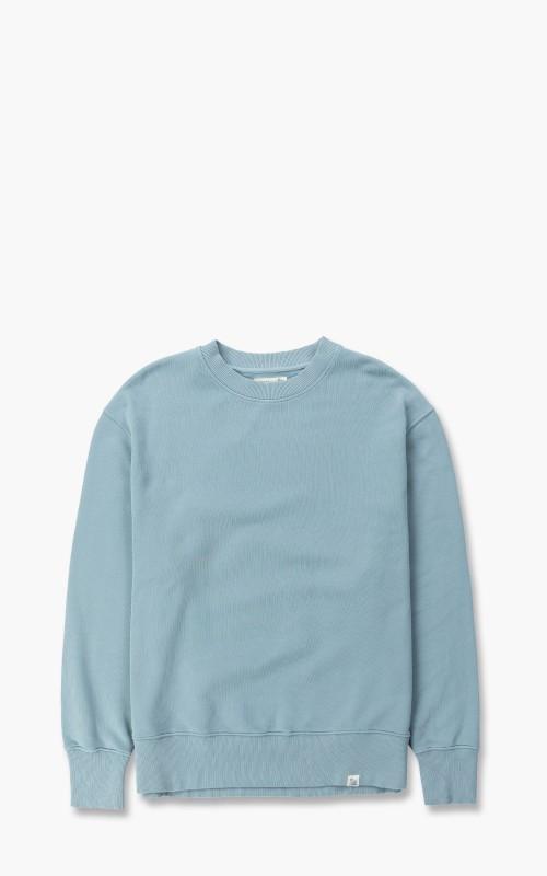 Merz b. Schwanen CSWOS01 Oversized Sweatshirt Pale Blue
