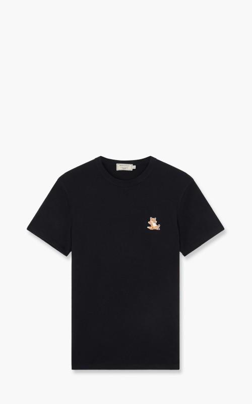 Maison Kitsuné Chillax Fox Patch Classic T-Shirt Black