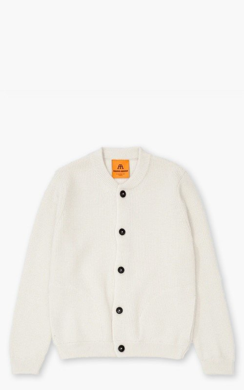 Andersen-Andersen Cotton Skipper Jacket Off White