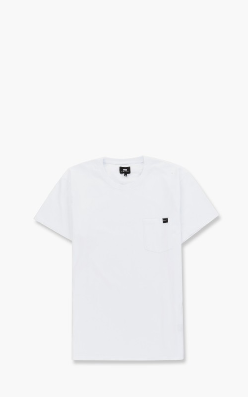 Edwin Pocket T-Shirt White