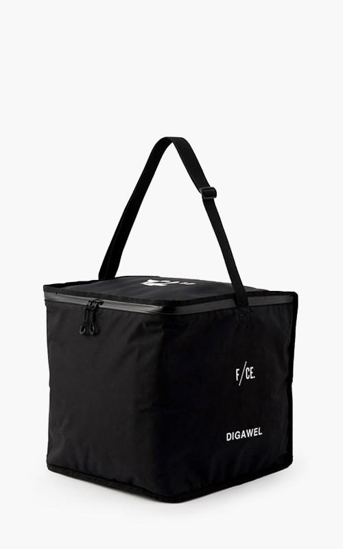 "Digawel Vinyl Cooler Bag 12"" Black"