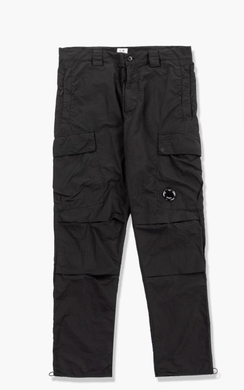 C.P. Company Flatt Nylon Pants Black