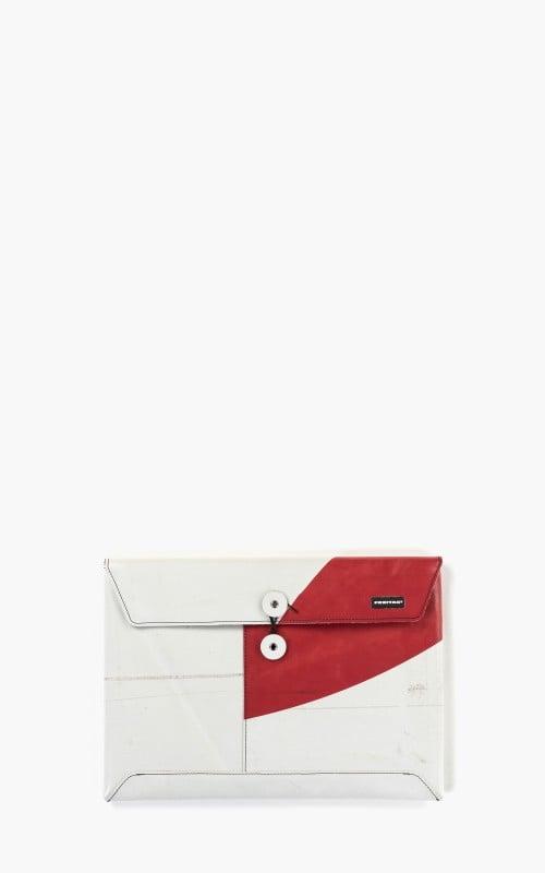 "Freitag F411 Sleeve Padded Laptop Envelope 13"" Silver 6-4"