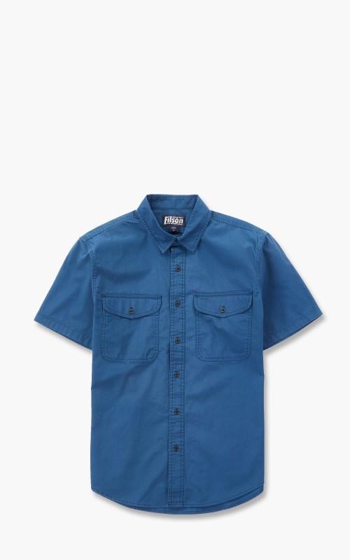 Filson S/S Field Shirt Blue Wing Teal