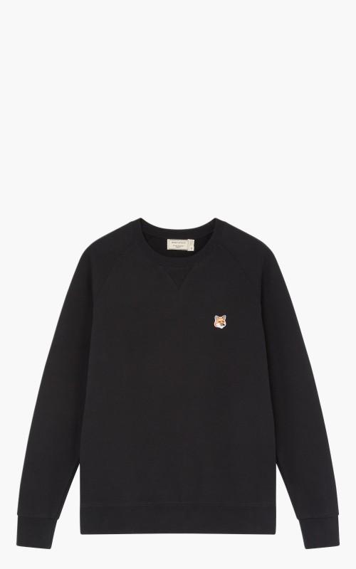Maison Kitsuné Sweatshirt Fox Head Patch Black