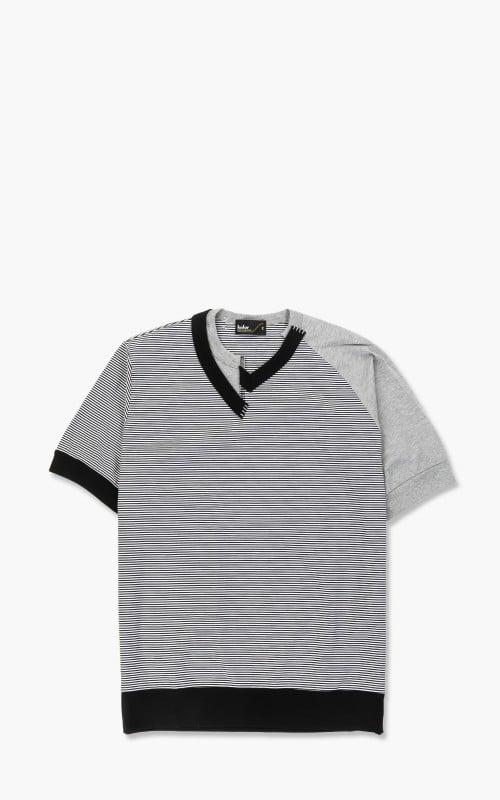 Kolor 21SCM-T10206A T-Shirt A-White/Black
