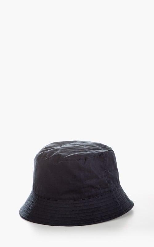 Kijima Takayuki No. 211108 Ventile Cotton Bucket Hat Navy