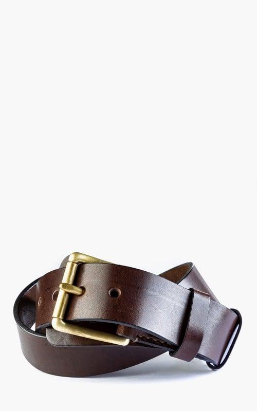 Timeless Leather Craftsmanship Military Belt Brown