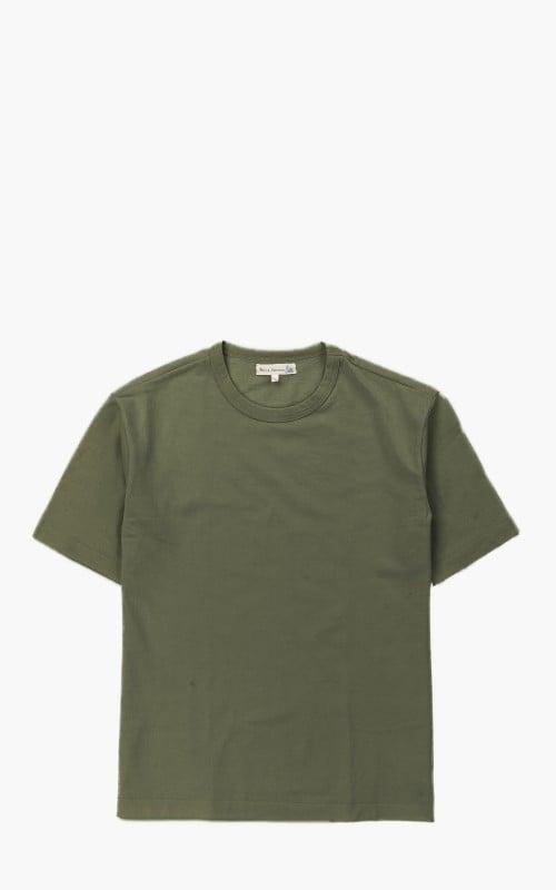 Merz b. Schwanen 218OS Oversized T-Shirt Army