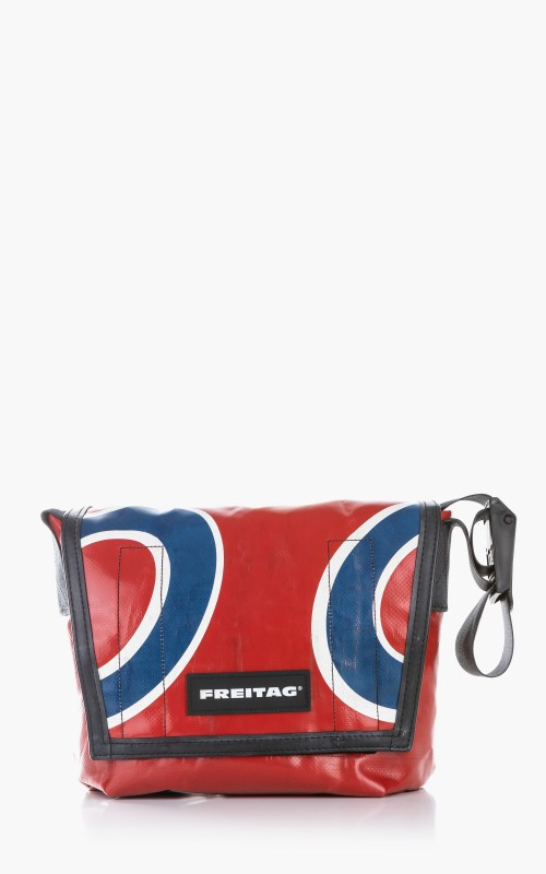 Freitag F11 Lassie Messenger Bag Classic S Red 6-1