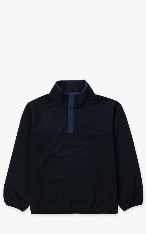 Nanamica ALPHADRY Pullover Jacket Dark Navy