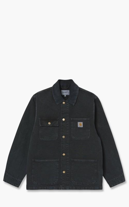 Carhartt WIP Michigan Coat Black Worn I026480.89.WF.03