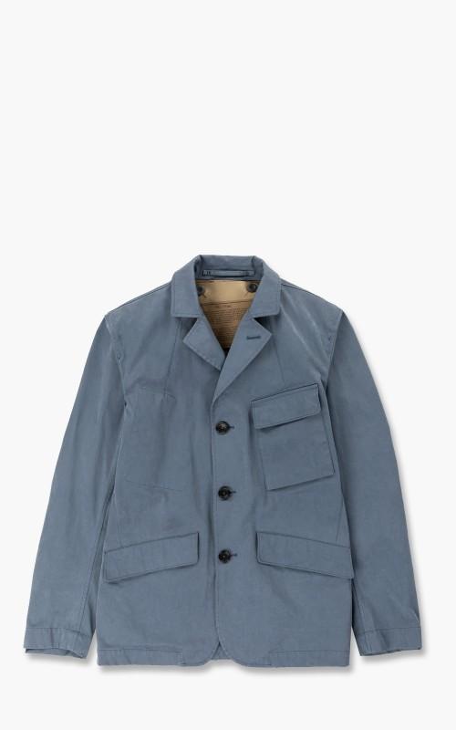 Ten C Drill Jacket Blue Grey
