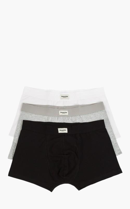 Resteröds Original 3-Pack Boxer Black/White/Grey
