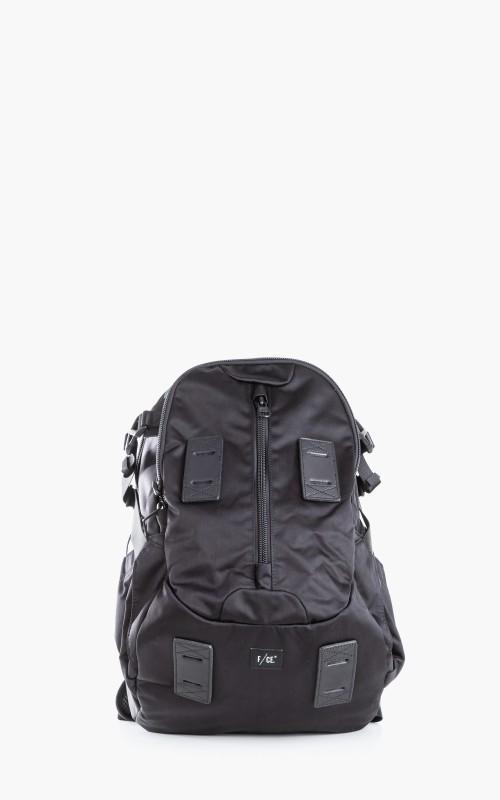 F/CE. Satin Travel Backpack Black