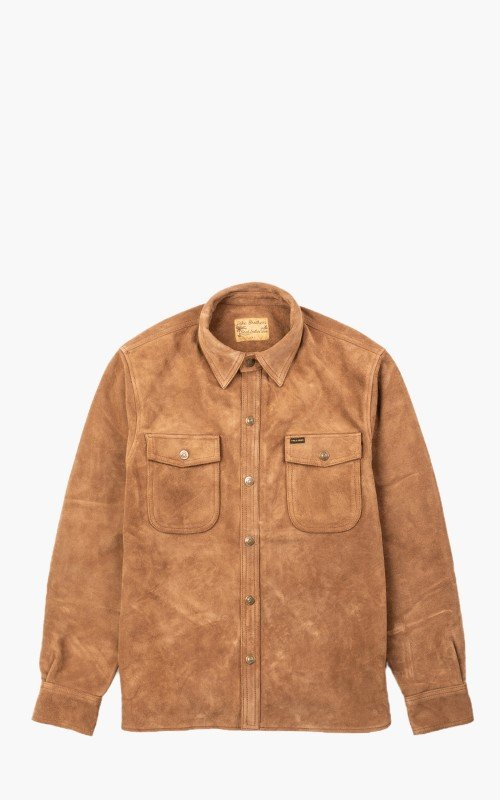 Pike Brothers 1943 CPO Shirt Mulholland Brown