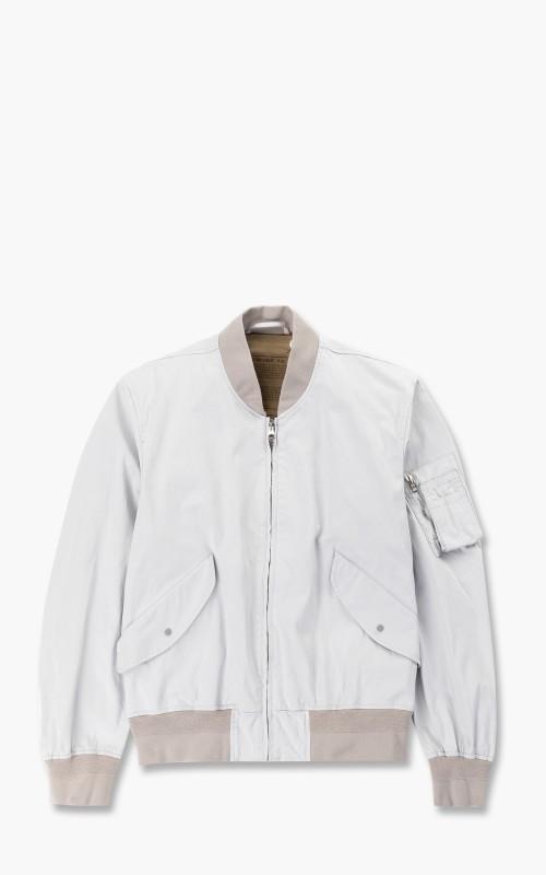 Ten C Flight Jacket Light Grey