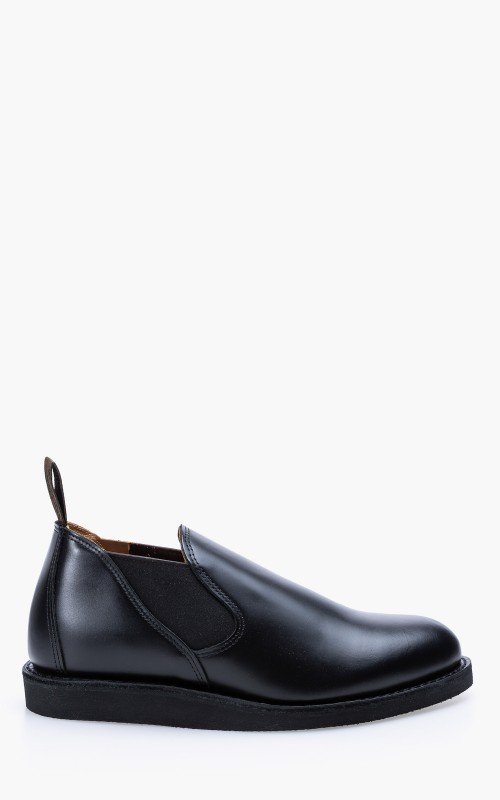 Red Wing Shoes 9198D Postman Romeo Black Chaparral