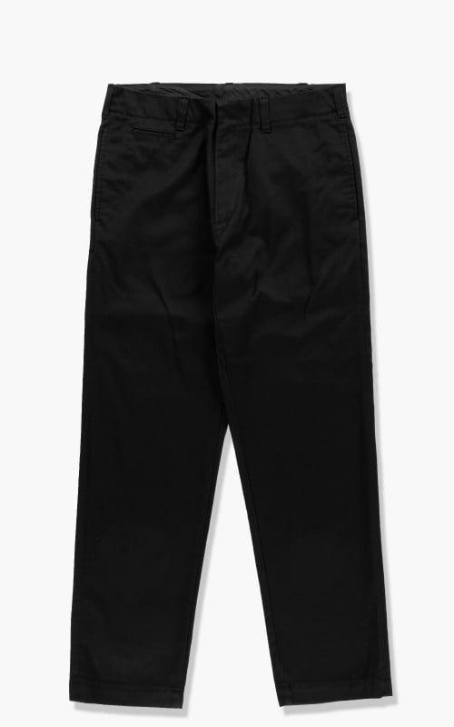 Nanamica Straight Chino Pants Black