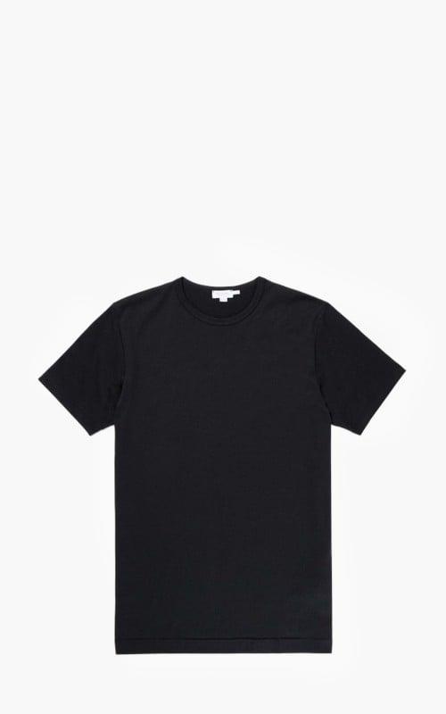 Sunspel Classic Cotton T-Shirt Black
